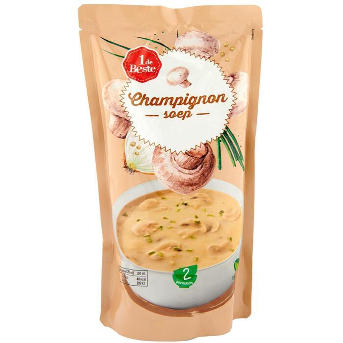 Soep in zak champignon (0.57L)