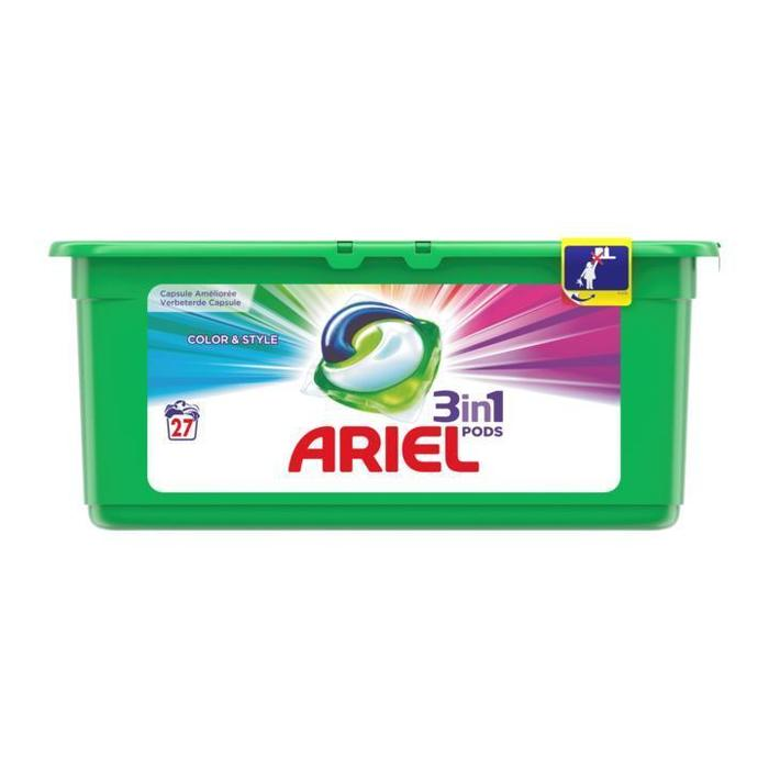 Ariel 3in1 pods color (28 st.)