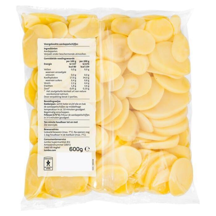 Jumbo Aardappelschijfjes 600 g (600g)