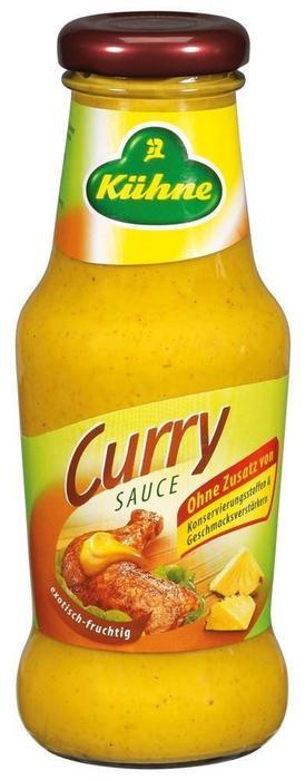 Kühne Curry Sauce 250 ml (250ml)