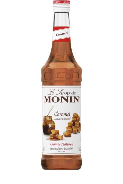 MONIN SIROOP CARAMEL (fles, 70 × 0.7L)