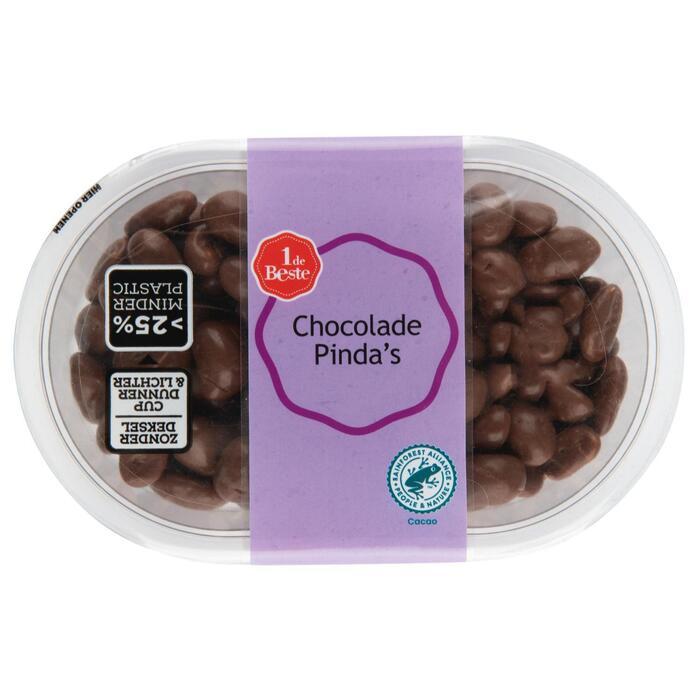 Chocolade pindas (21g)
