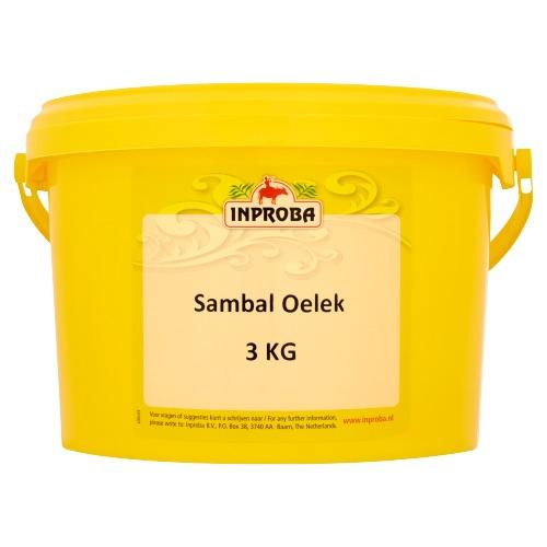 Inproba Sambal Oelek 3 kg (3kg)