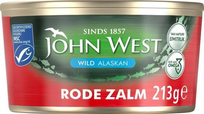 Wilde Rode Zalm, MSC (blik, 210g)