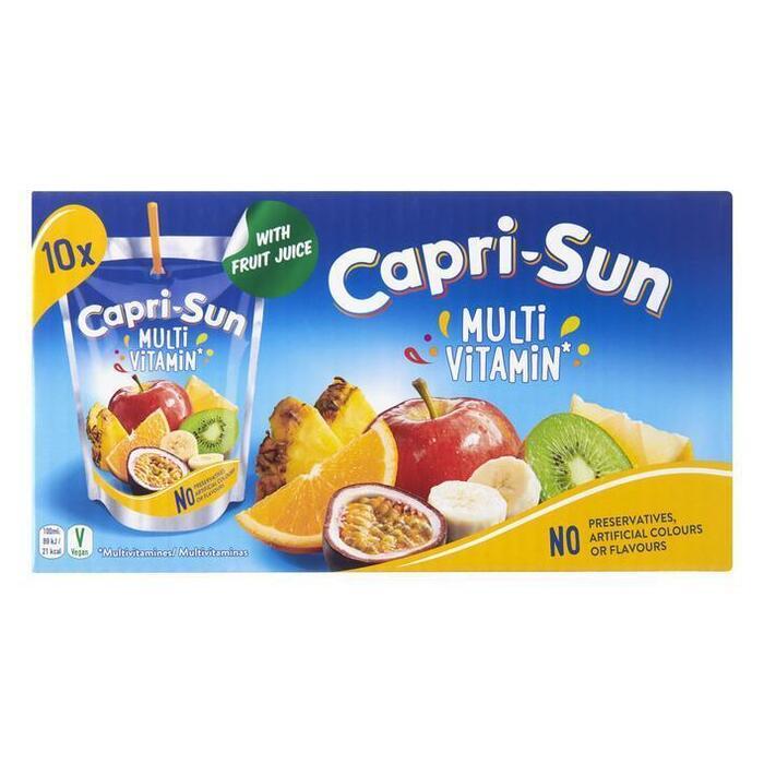 Capri-Sun Multivitamin Stevia Pouch 0.2L 1x (10 × 200ml)
