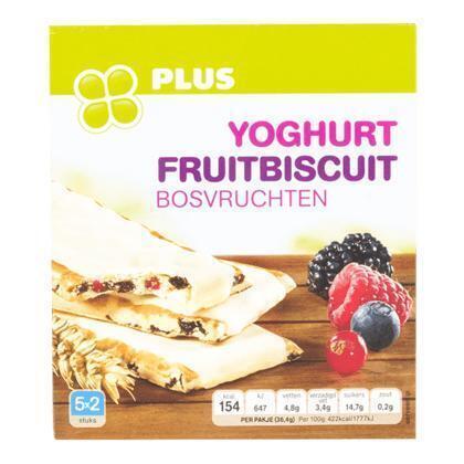 Fruitbiscuit yoghurt bosvruchten (5 × 36.4g)