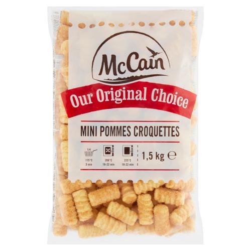 MCCAIN OUR ORIGINAL CHOICE MINI POMMES CROQUETTES (1.5kg)