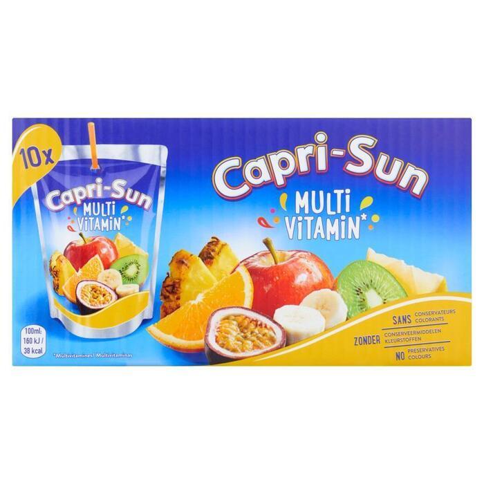 Multi Vitamin (doos, 10 stuks) (Stuk, 10 × 200ml)
