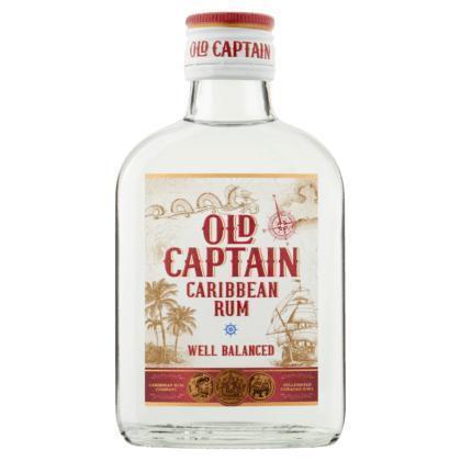 Old Captain Caribbean rum wit (rol, 20 × 200ml)