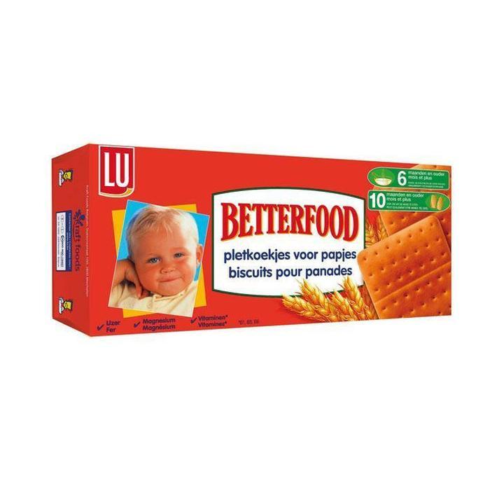 Betterfood pletkoekjes (175g)