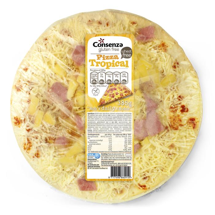 Consenza Pizza tropical (glutenvrij) (375g)