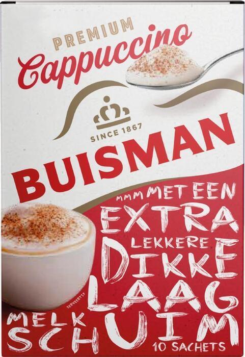 Premium Cappuccino (doos, 125g)