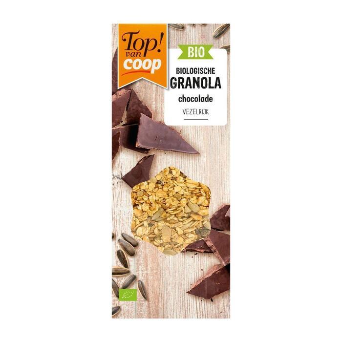 Top! Van Coop Bio granola chocolade (350g)