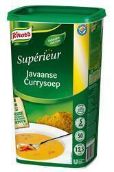 Knorr Supérieur Javaanse Currysoep (fles, 6 × 1kg)