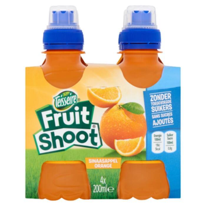 Fruit Shoot Sinaasappel (plastic fles, 3 × 200ml)