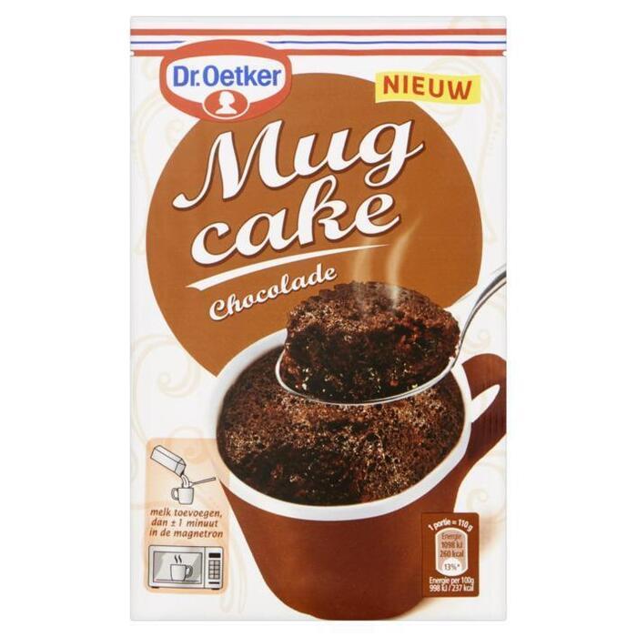 Mug cake chocolade (Stuk, 60g)