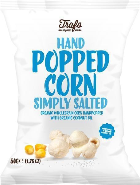Handpopped corn simply salted (50g)