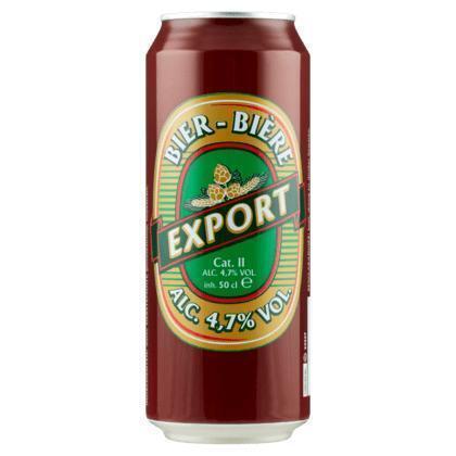 Export Pilsener (rol, 50 × 0.5L)