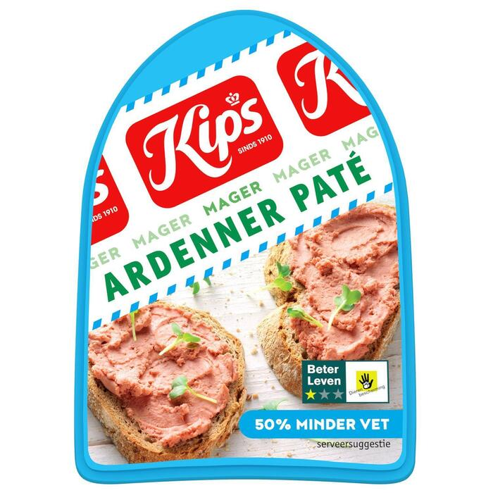 Pate ardenner mager (125g)