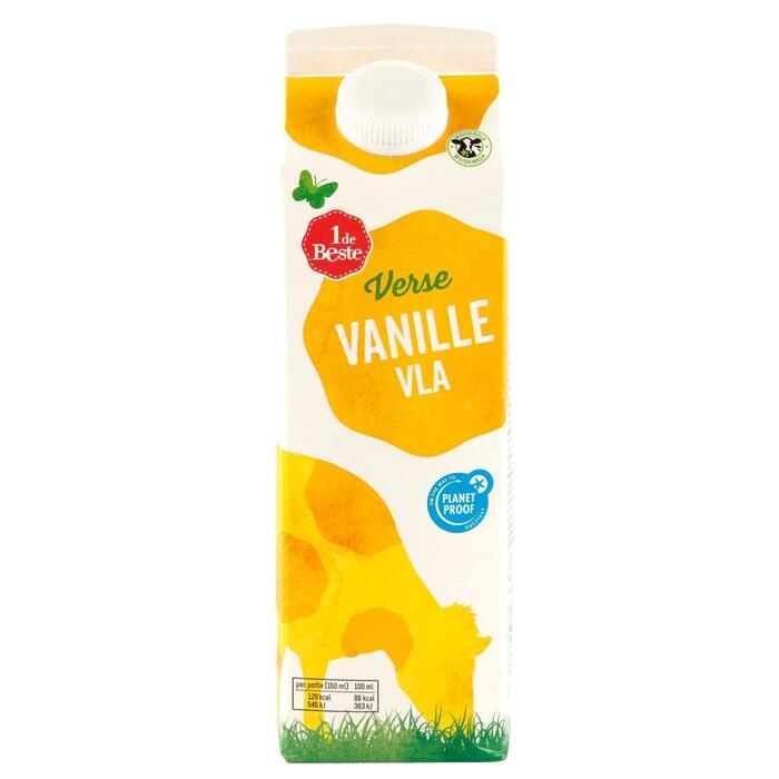 Vla vanillesmaak (1L)