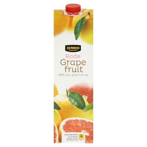 Rode Grapefuit (pak, 1L)