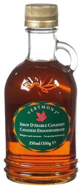 Canadese Esdoornsiroop (fles, 250ml)