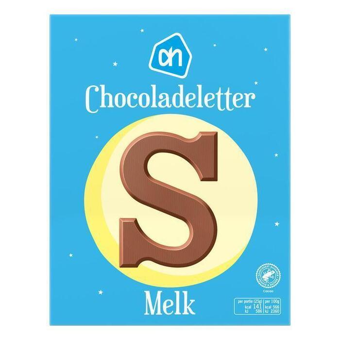 AH Chocoladeletter melk (135g)