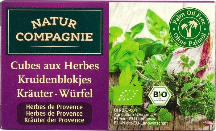 Kruidenbouillonblokjes provencaalse kruiden (doos, 80g)
