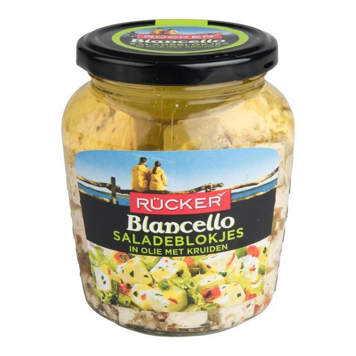 Rücker Blancello Saladeblokjes in Olie met Kruiden 300 g (Stuk, 300g)