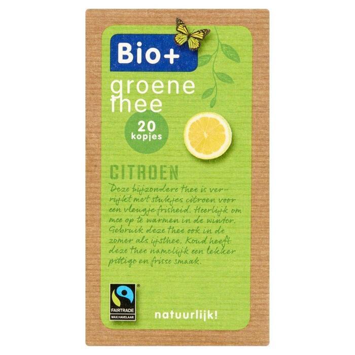 Groene thee citroen (Stuk, 2g)