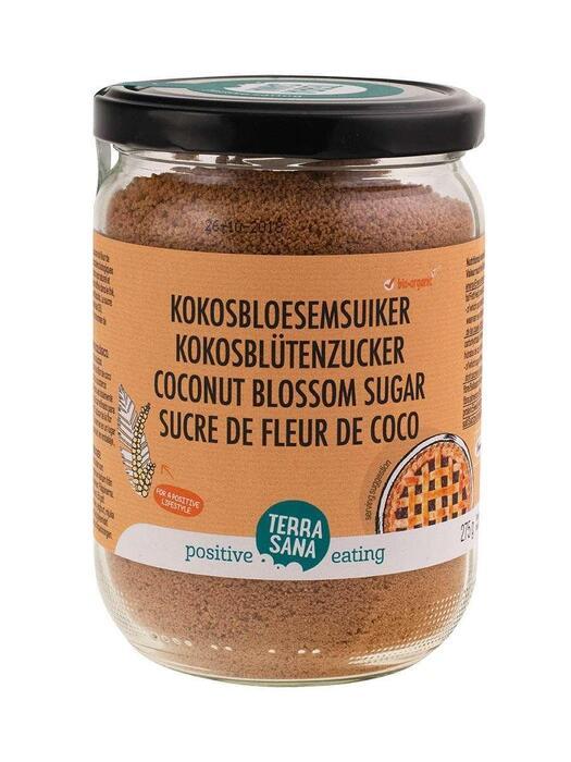 Kokosbloesemsuiker (in glas) TerraSana 275g (275g)