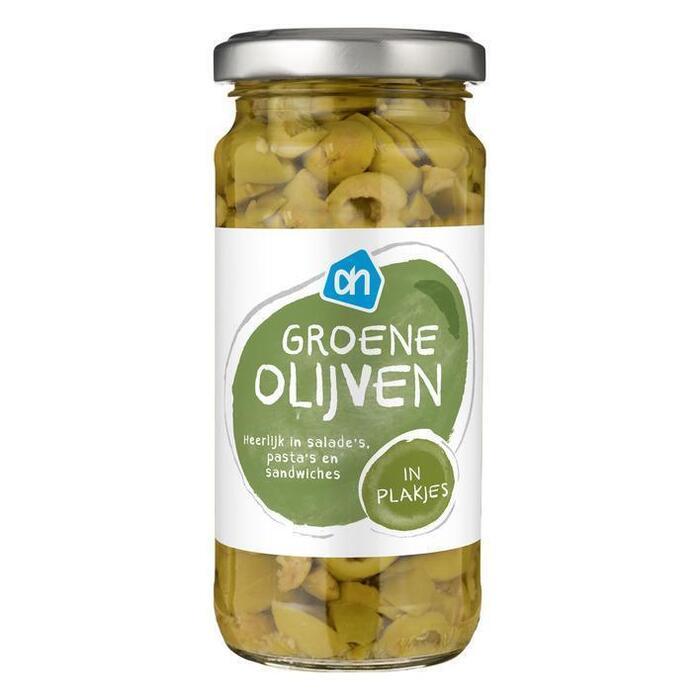 Groene olijven in plakjes (240g)
