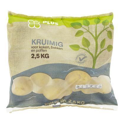Aardappelen, Kruimig (zak, 2.5g)