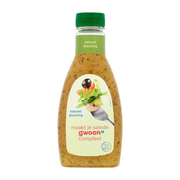 g'woon Dressing naturel (45cl)