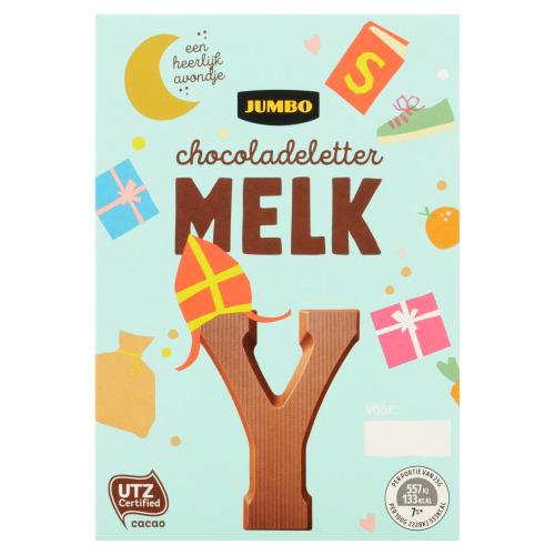 Jumbo Melkchocolade Letter Y 65 g (65g)