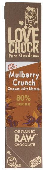 Mulberry/Vanilla (reep, 40g)