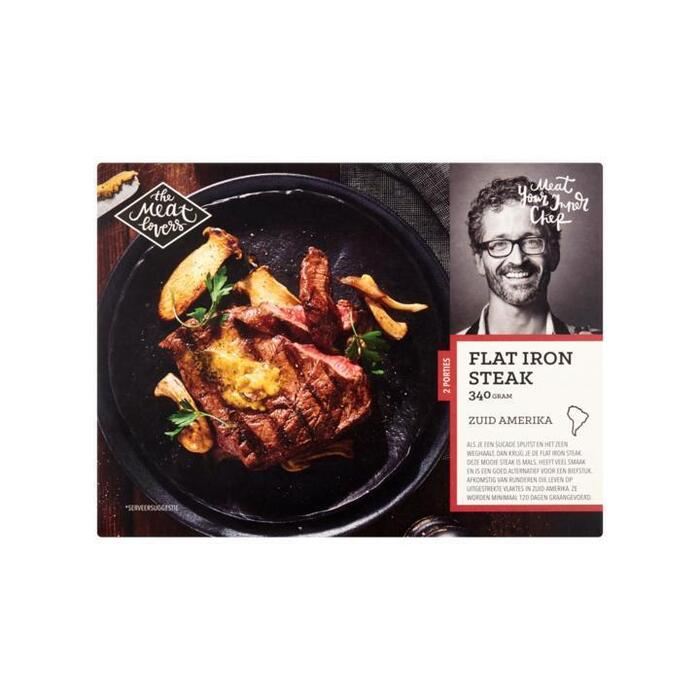 The Meat Lovers Flat Iron Steak 340 g (340g)