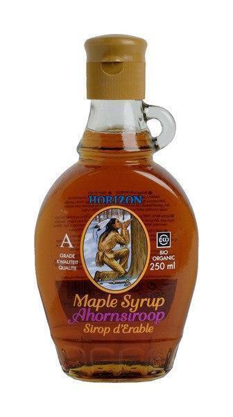 Ahornsiroop biologisch (glas, 250ml)