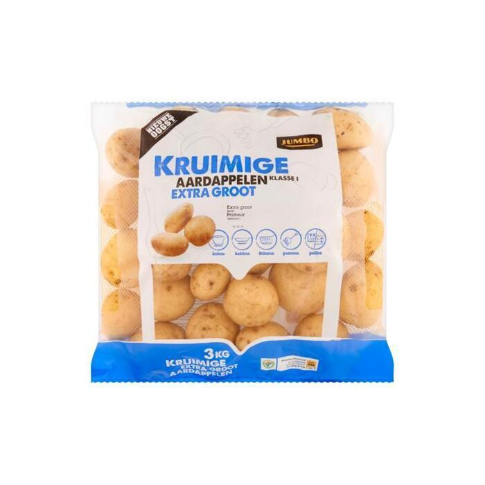 Kruimige extra grote Aardappelen (zak, 3kg)