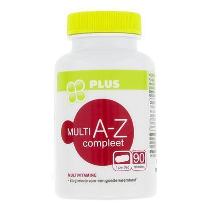 Multi vitamine A-Z compleet (90 st.)