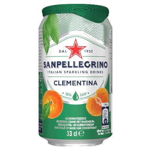 San Pellegrino San pellegrino clementina bl (33cl)