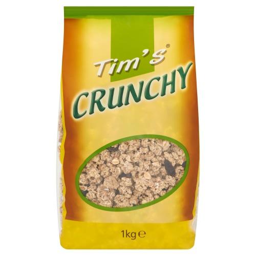 Crunchy krokante muesli (zak, 1kg)
