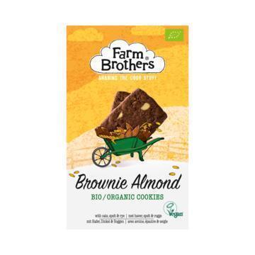 Farm Brothers Brownie Almond Bio Cookies 150 g (150g)