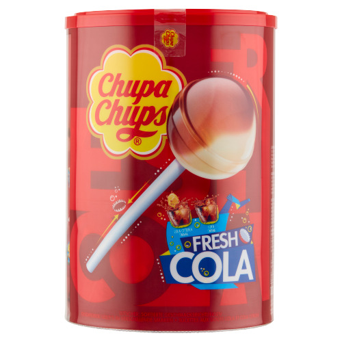 CHUPA CHUPS  Cola Lollies 1200 GR Emmer (100 × 1.2kg)