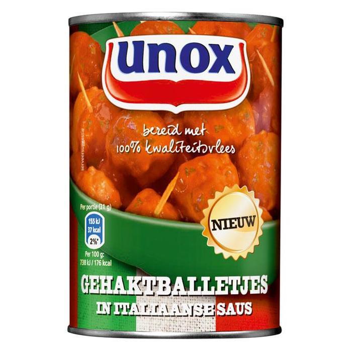 Gehaktballetjes in Italiaanse saus (blik, 20 × 420g)