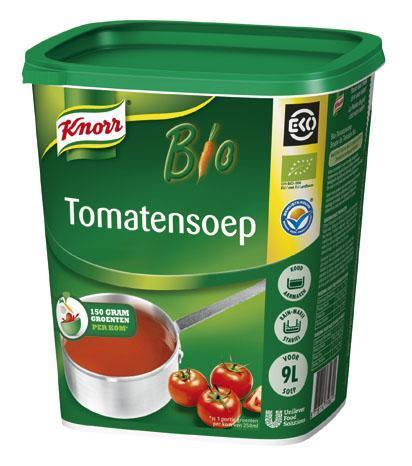 Knorr Eko Tomatensoep 1kg 3x  NL-BIO-01 (3 × 1kg)