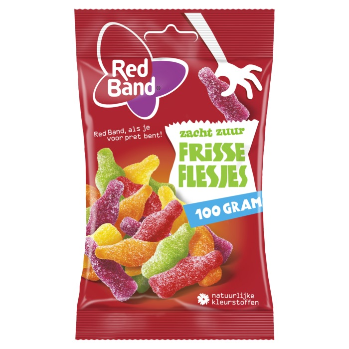 Red band Frisse Flesjes 100 g (100g)
