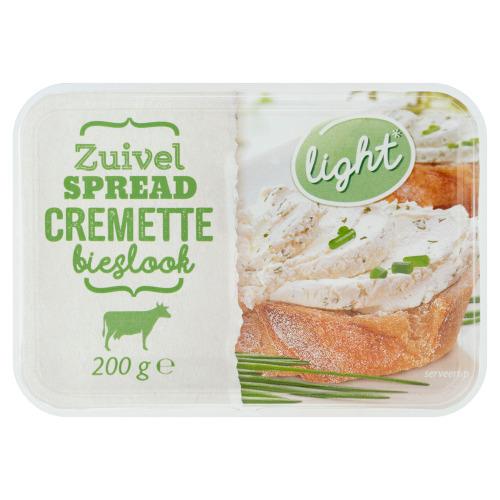 Cremette Zuivelspread Bieslook 200 g (200g)