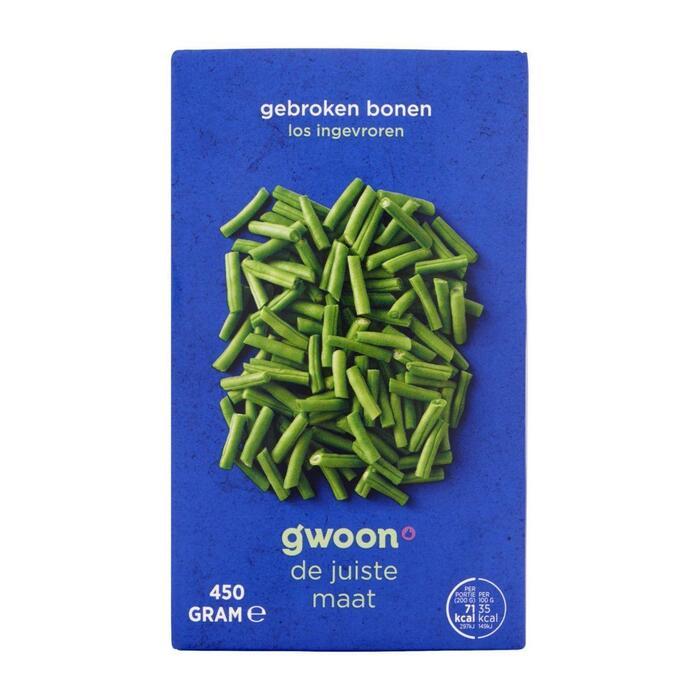 g'woon Gebroken bonen (450g)