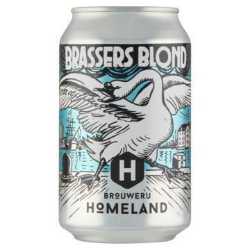 Homeland - Brassers Blond - Blik 330ML (33cl)